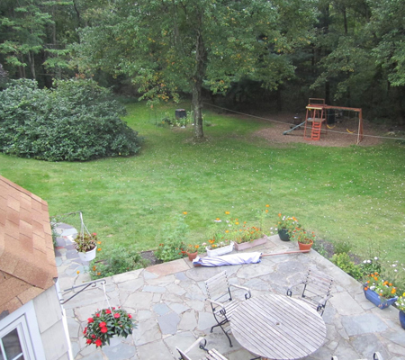 Before - On-ground Pools in Brookfield, CT - Nejame & Sons